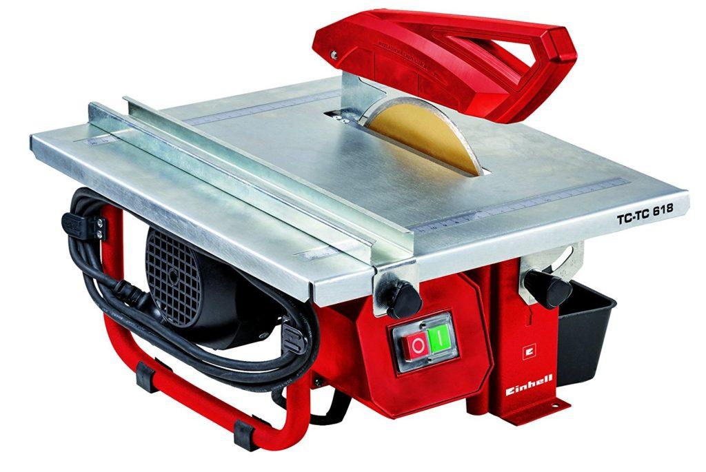 La carrelette électrique est très utile pour les coupes non rectiligne !